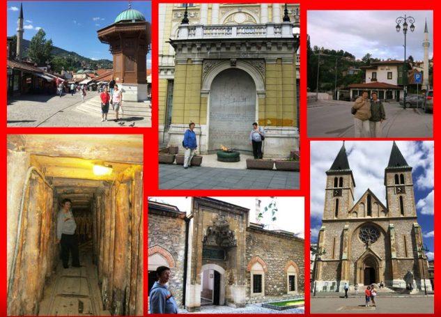 SARAYBOSNA (SARAJEVO)'DA GEZİLECEK YERLER- ACI,HÜZÜN VE GÖZYAŞI ŞEHRİ