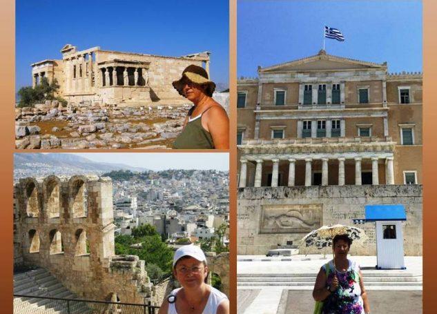 ATİNA'DA GEZİLECEK YERLER